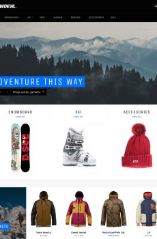 venture snowboards dropship website